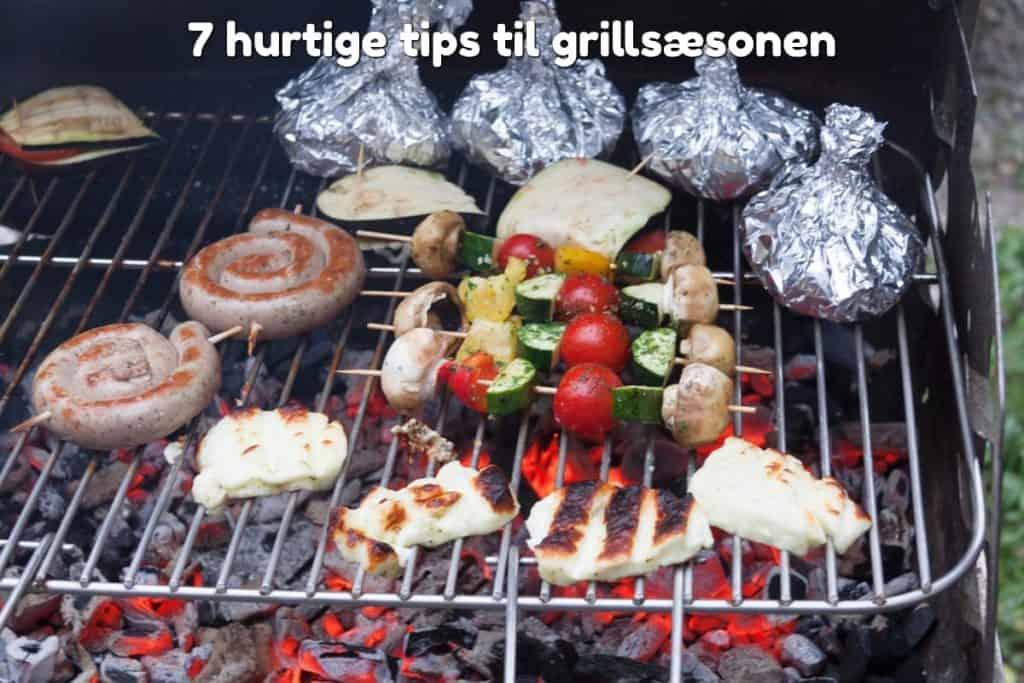 7 hurtige tips til grillsæsonen