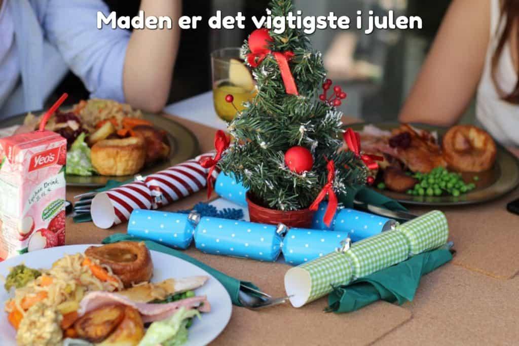Maden er det vigtigste i julen
