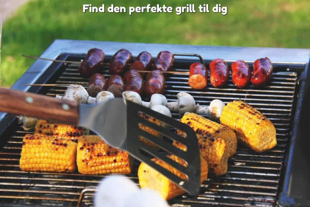 Find den perfekte grill til dig